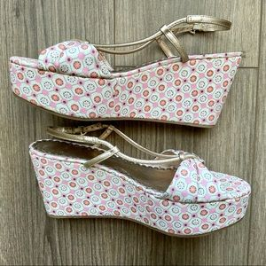 JUICY COUTURE Cecil Mosaic Wedge Sandal